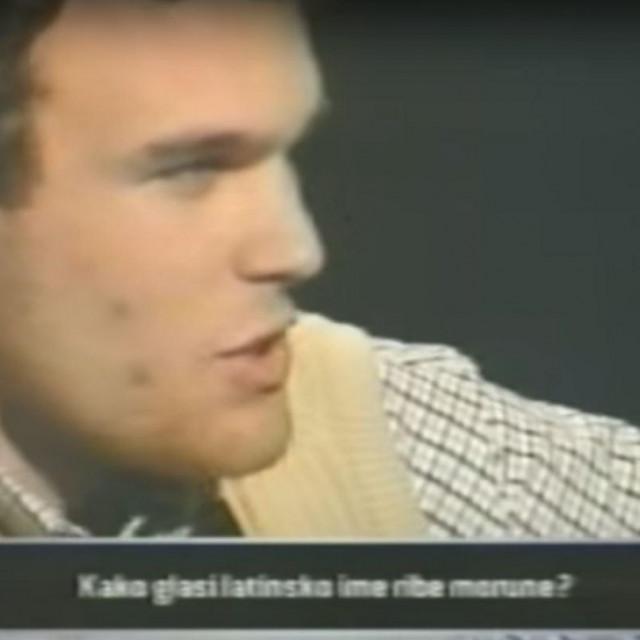 """Krešo Lilić na kvizu""""Tko želi biti milijunaš?"""""""