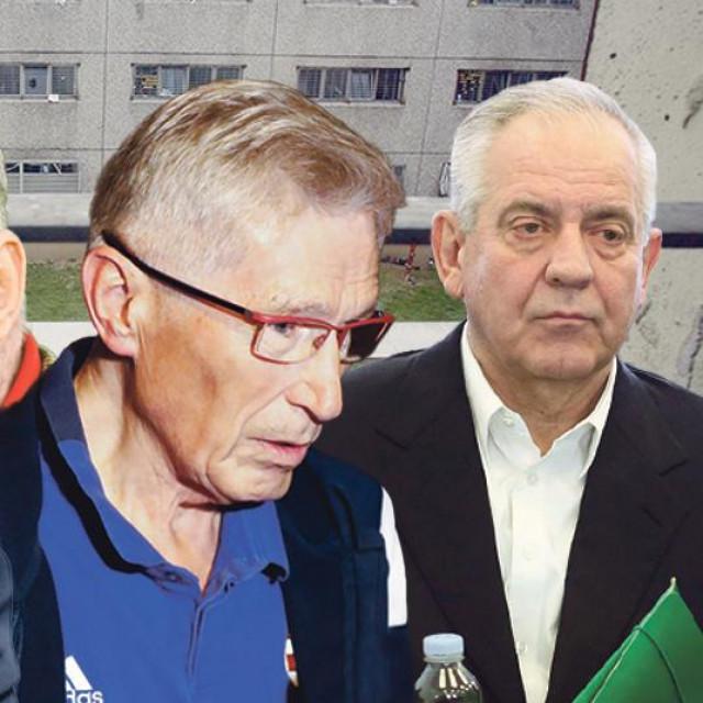 Kazimir Bačić, Milan Lončarić, Tomislav Horvatinčić, Ivo Sanader