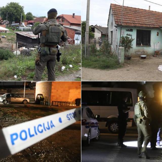 Specijalna policija u romskom naselju Parag dan nakon krvavog obračuna