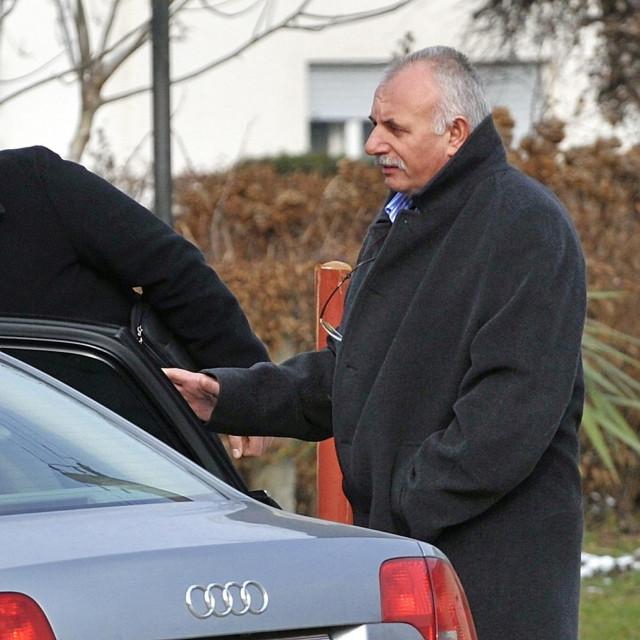 Krešimir Petek sa sinom Miroslavom