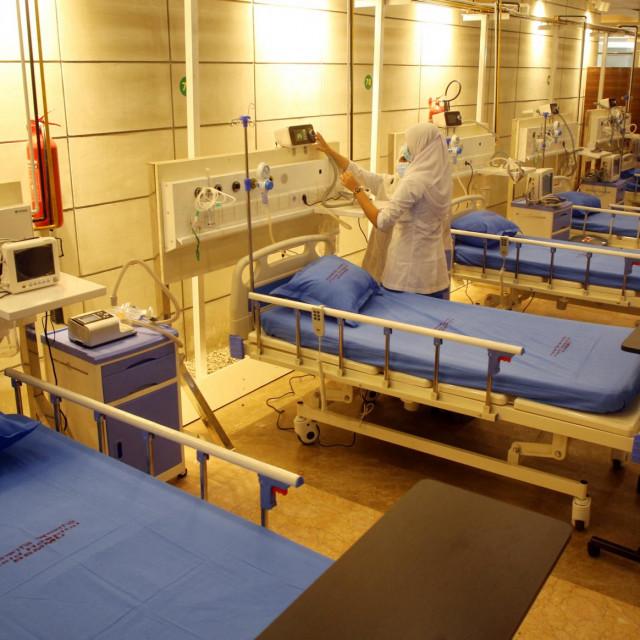 Covid bolnica/Ilustracija
