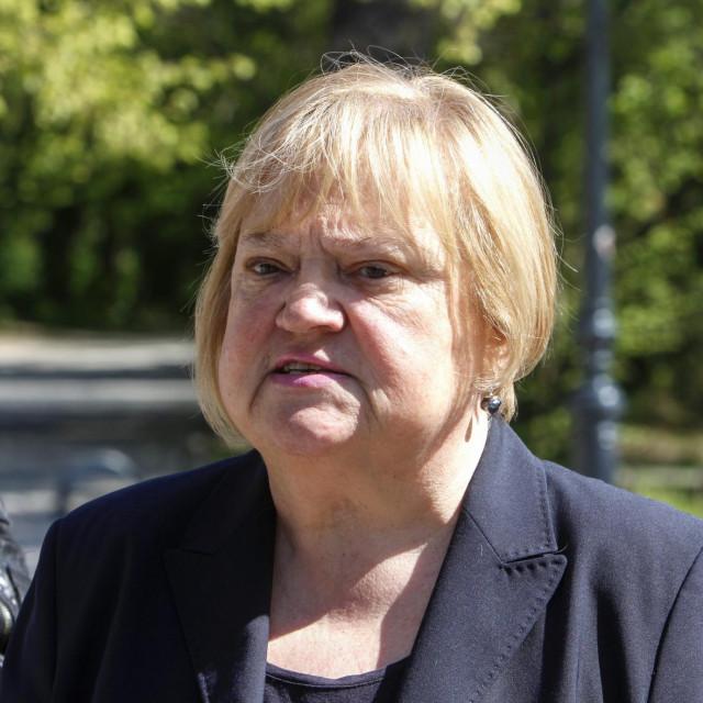 Predsjednica stranke GLASAnka Mrak Taritaš