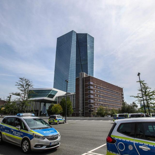 Zgrada Europske središnje banke u Frankfurtu