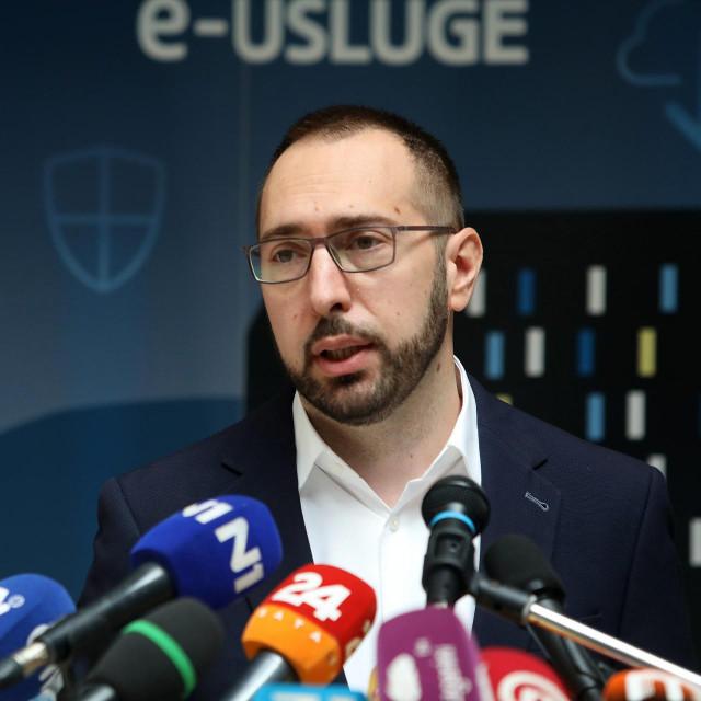 Gradonačelnik Grada Zagreba Tomislav Tomašević