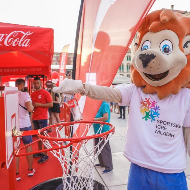 Coca-Cola HBC na Plazma Sportskim igrama mladih