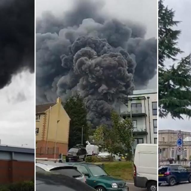 Eksplozija u Leamington Spa