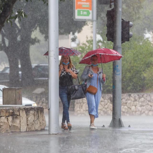 Kiša u Splitu