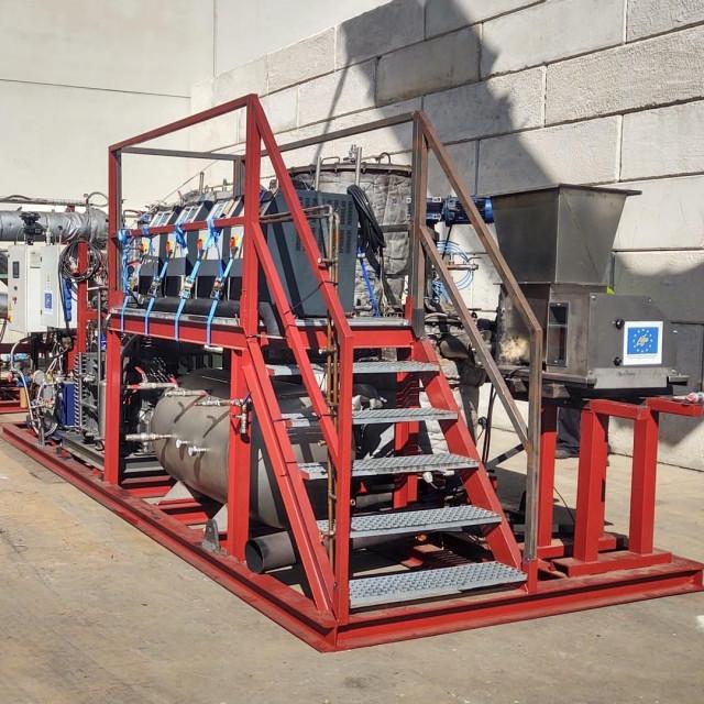 Pilot postrojenje za proizvodnju metalila