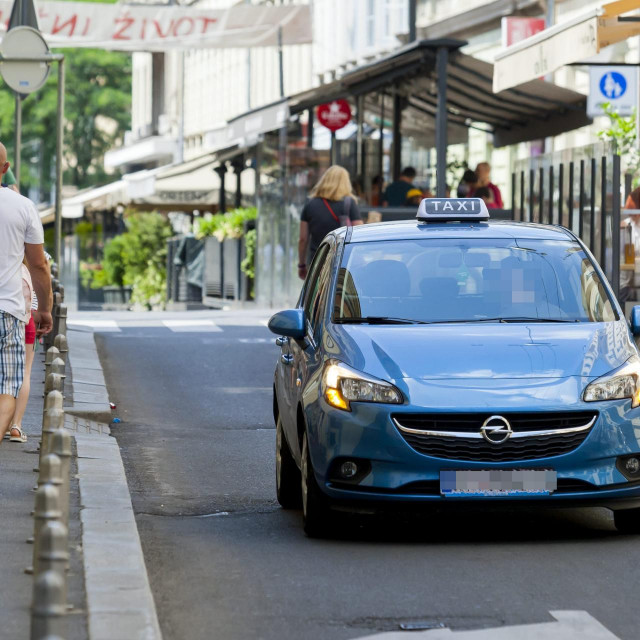 Uber taksi, ilustrativna fotografija