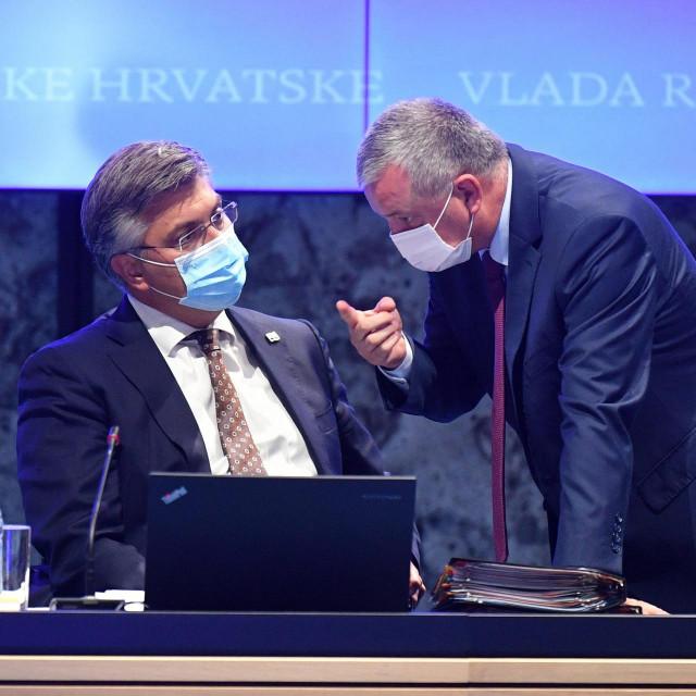Andrej Plenković i Darko Horvat