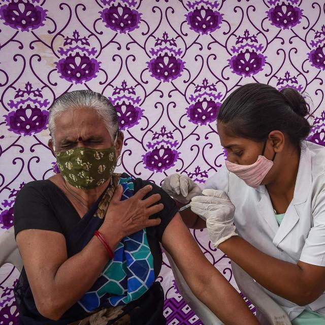 Cijepljenje u Indiji