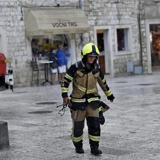 Vatrogasac u Splitu
