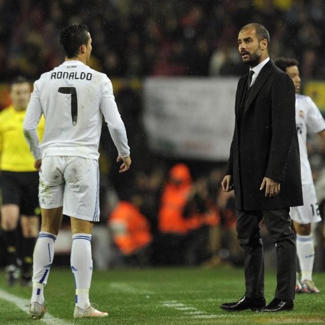 Cristiano Ronaldo i Josep Guardiola