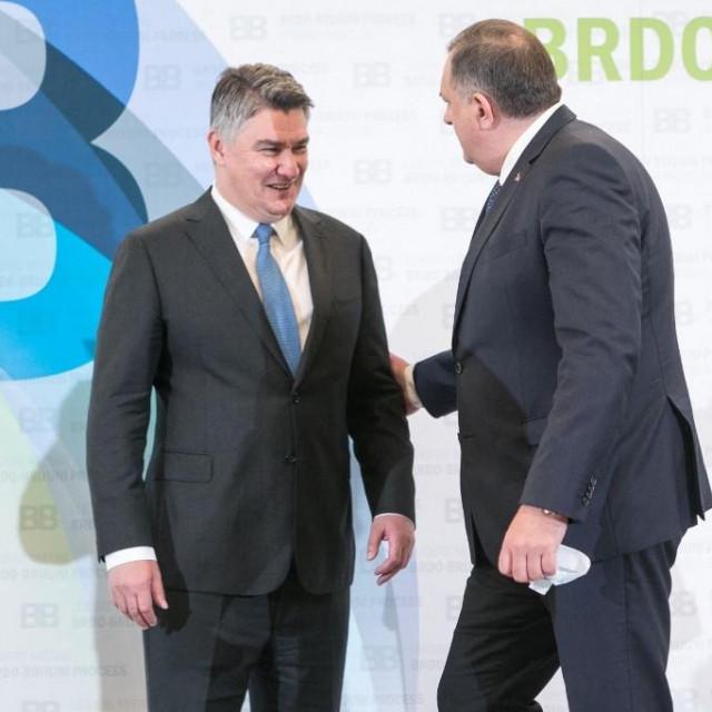 Zoran Milanović i Milorad Dodik