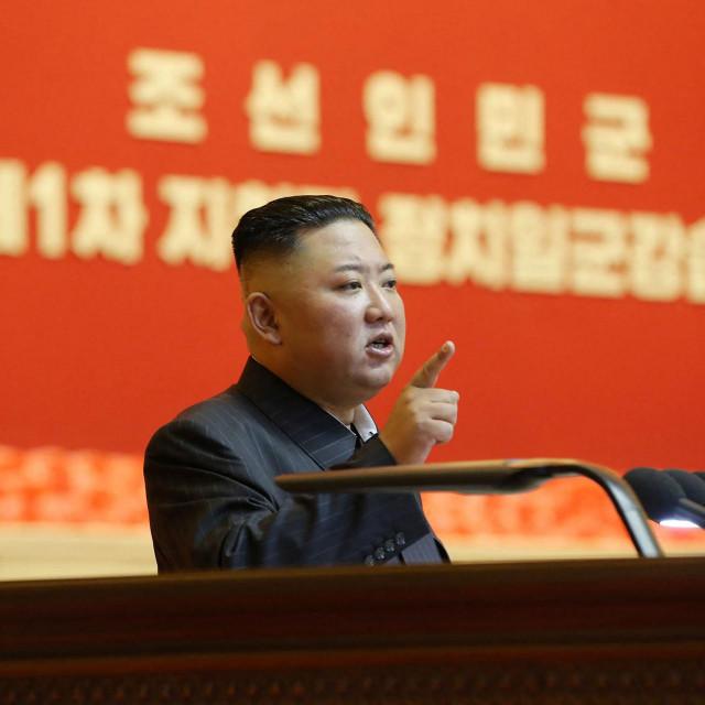 Sjevernokorejski vođa Kim Jong Un