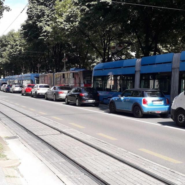 Gužva u Zagrebu