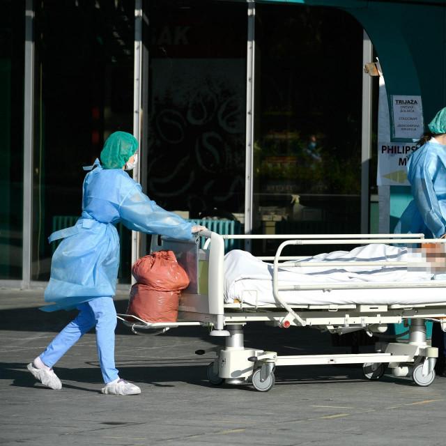 Više nije predviđeno slanje liječnika i sestara iz drugih bolnica u KB Dubrava