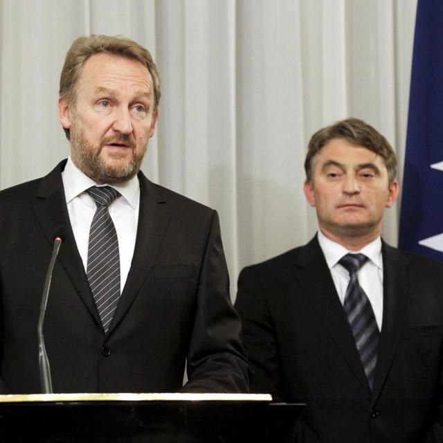 Bakir Izetbegović iŽeljko Komšić