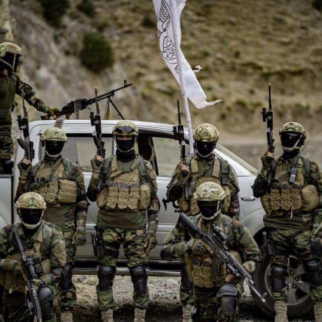 Pripadnici Badri 313 bataljuna