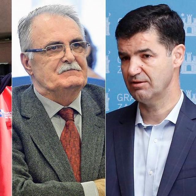 Zvonimir Šostar, Davor Jelavić, Miro Laco, Zdenko Antunović