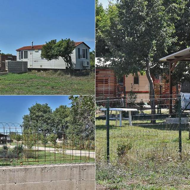 """U mjestu Šišan kraj Pule """"niknulo"""" je 5 kuća u šumskom području, daleko od građevinske zone"""