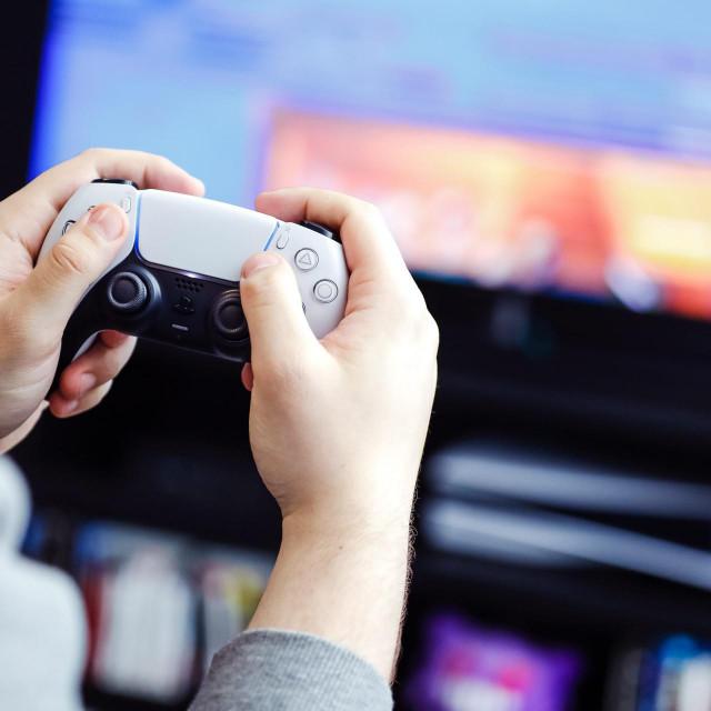 Igranje igara, ilustracija