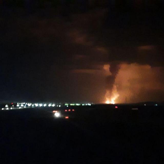 Eksplozija u skladištu oružja