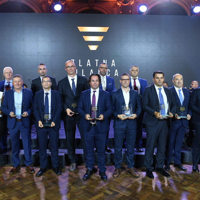 Laureati nagrade Zlatna bilanca
