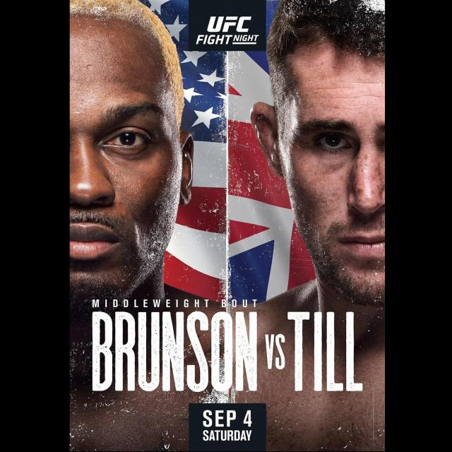Brunson vs. Till poster