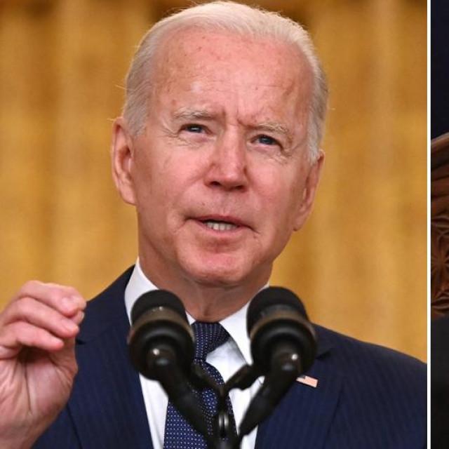 Joe Biden i Ashraf Ghani