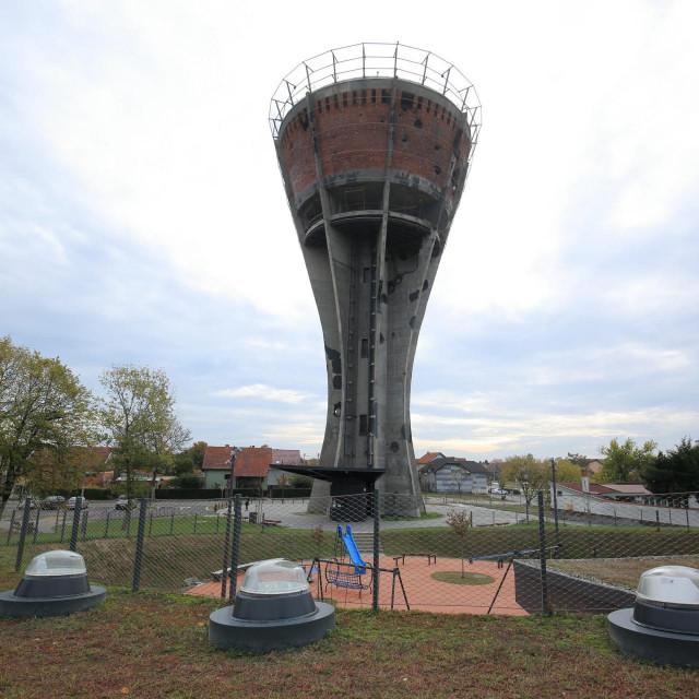 Vukovarski vodotoranj, arhivska fotografija