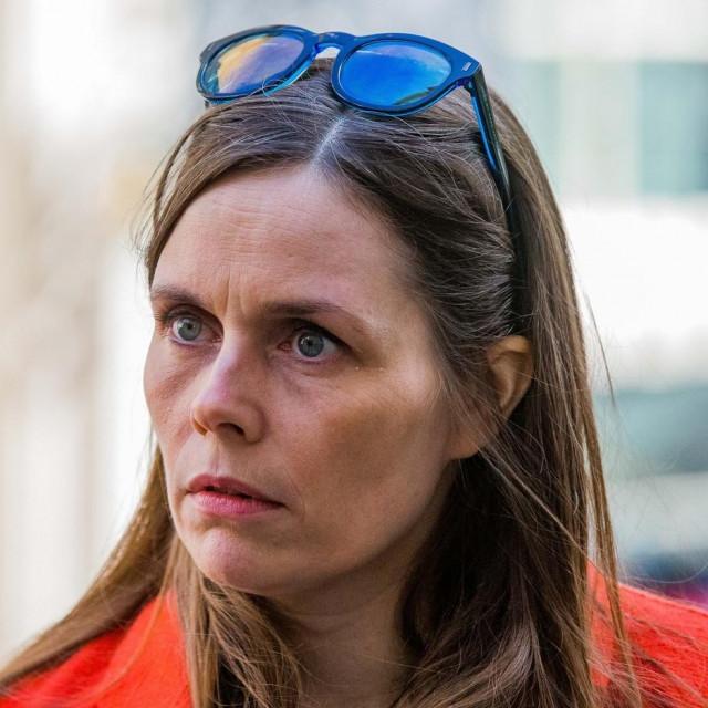 Premijerka Katrín Jakobsdóttir