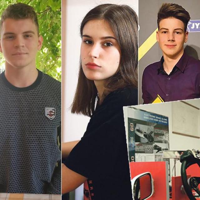 Mladi hrvatski robotičari, Mate Rimac (u okviru)