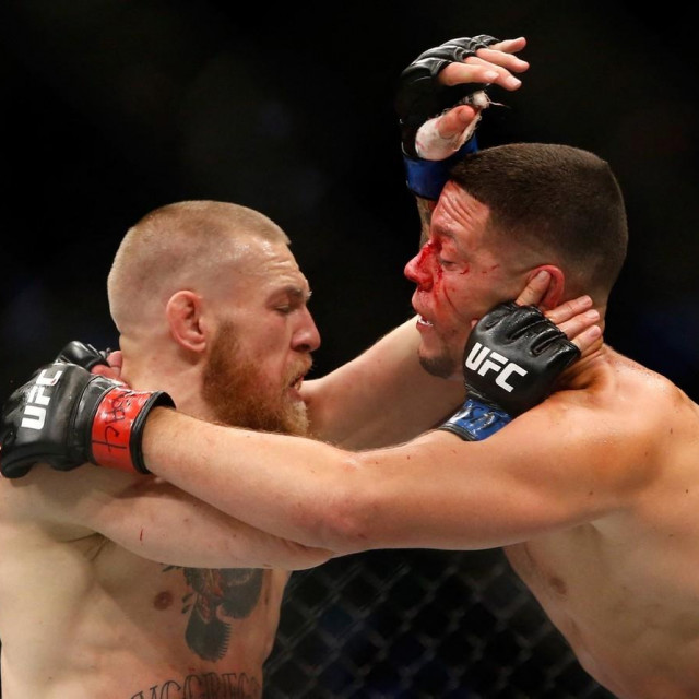 Conor McGregor vs Nate Diaz