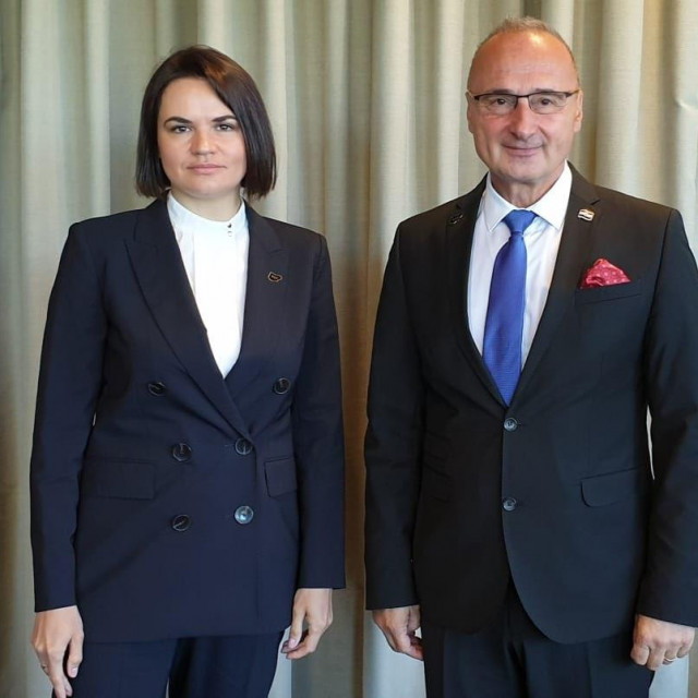 Gordan Grlić Radman i Svjetlana Tihanovska