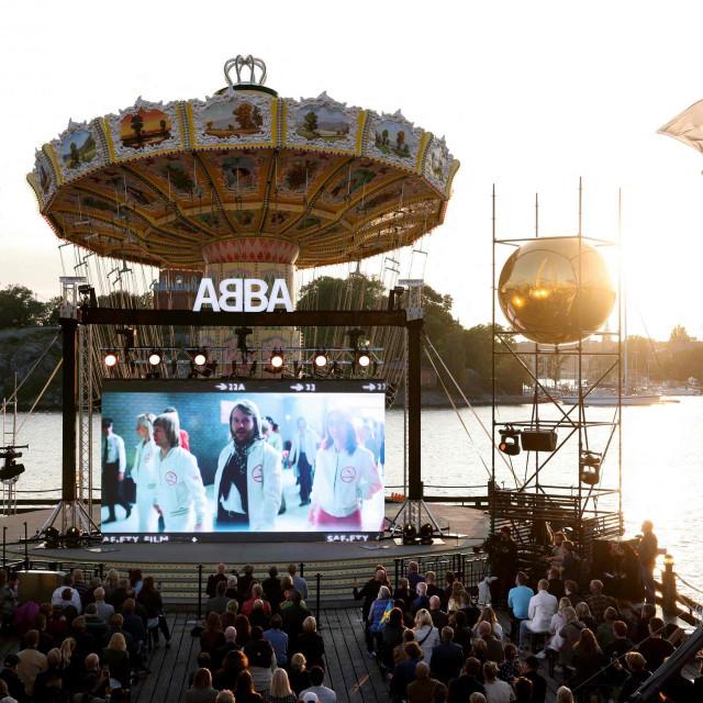Najava novog albuma ABBA-e u Londonu