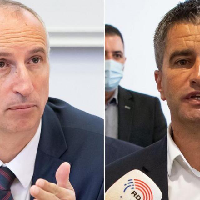Ivica Puljak i Vice Mihanović