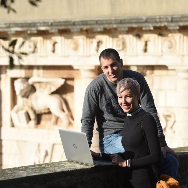 Kristina Alić i Simeon Bugarija zadarski su digitalni nomadi koji su neko vrijeme živjeli i radili u Aziji