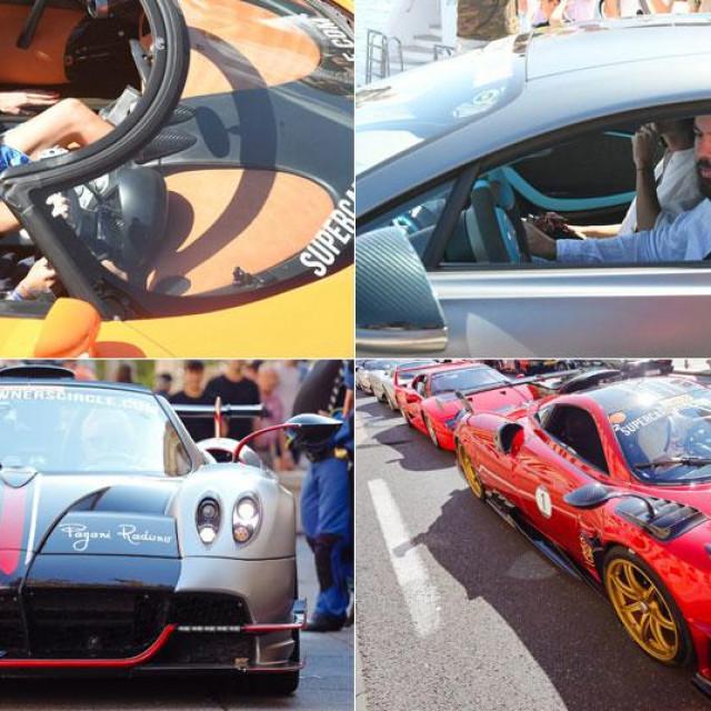 Superautomobili na turneji
