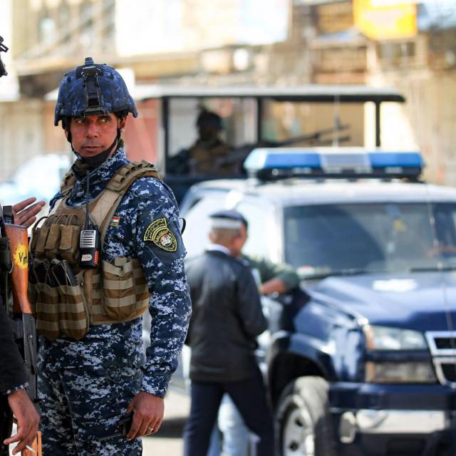 Irački policajci (arhiva)