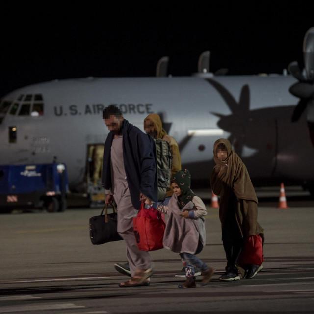 Afganistanske izbjeglice, ilustracija