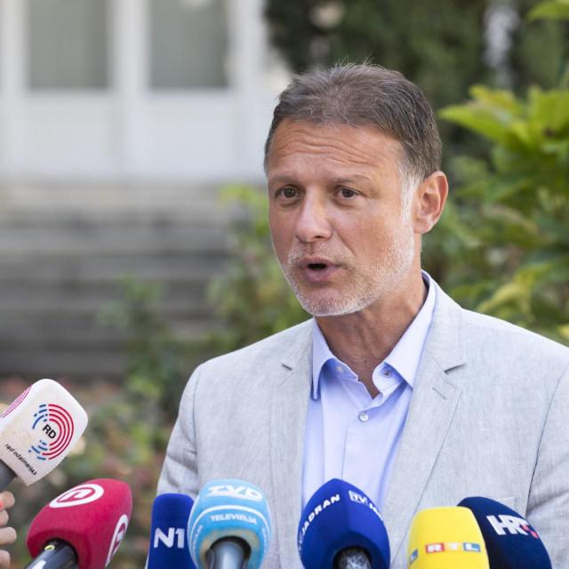 Pedsjednik Hrvatskog sabora Gordan Jandroković