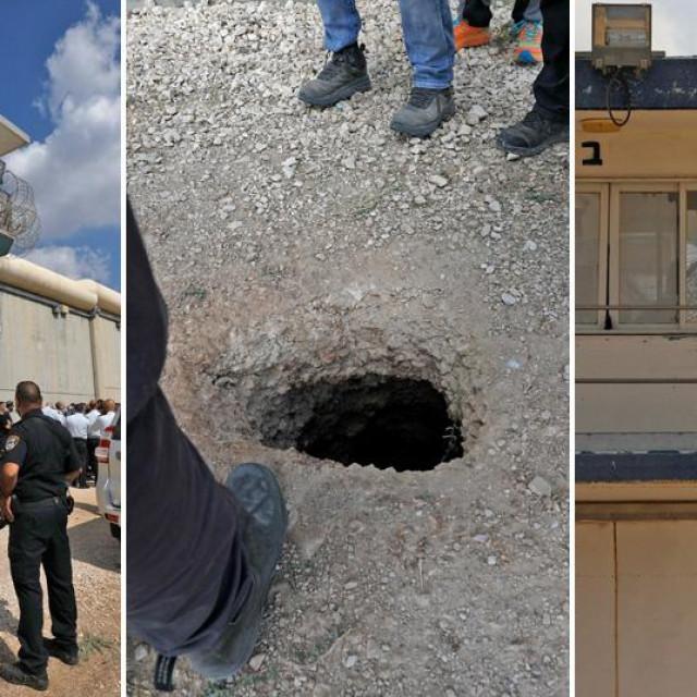 Zatvor Gilboa u Izraelu i rupa tunela kroz koji su zatvorenici pobjegli