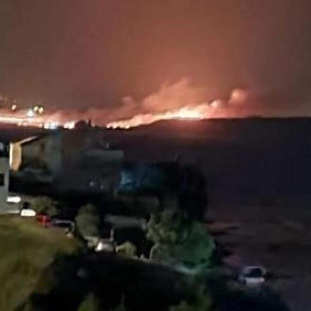 Požar na području Ražanca