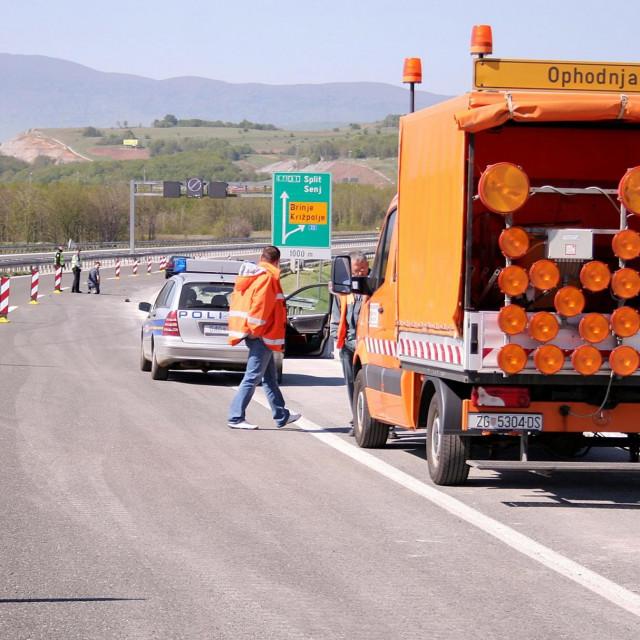 Autocesta, ilustracija