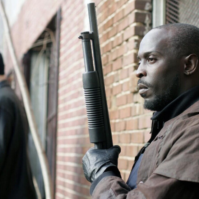 Michael K. Williams kao Omar Little u seriji 'Žica'