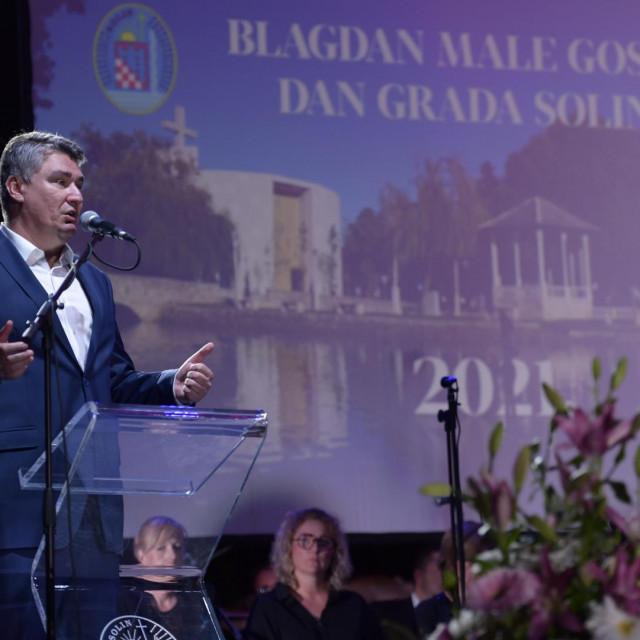 Svečana sjednica Gradskog vijeća Solina uoči Dana grada i blagdana Male Gospe.<br />