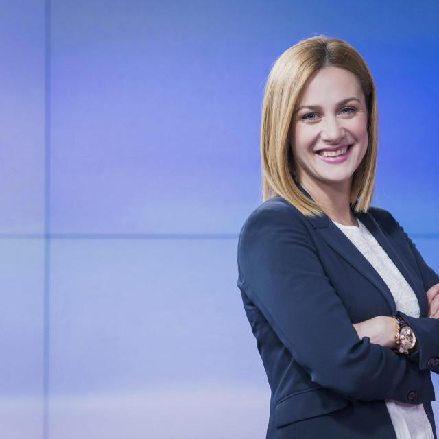 Ivana Brkić Tomljenović, novinarka i voditeljica s Nove TV.
