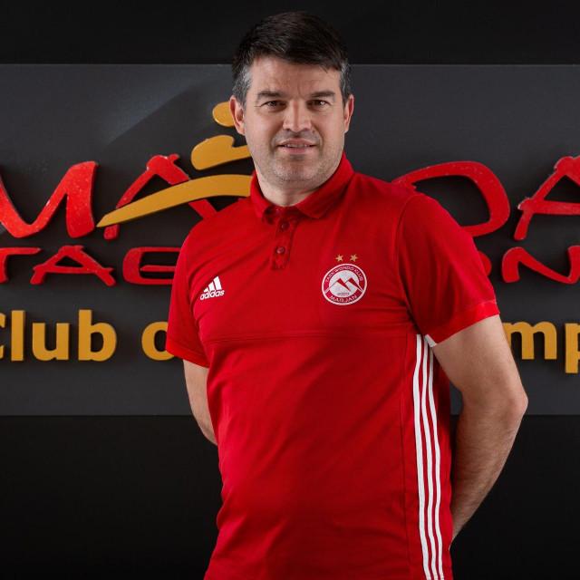 Toni Tomas, osnivač Taekwondo kluba Marjan<br /> <br /> <br /> <br />