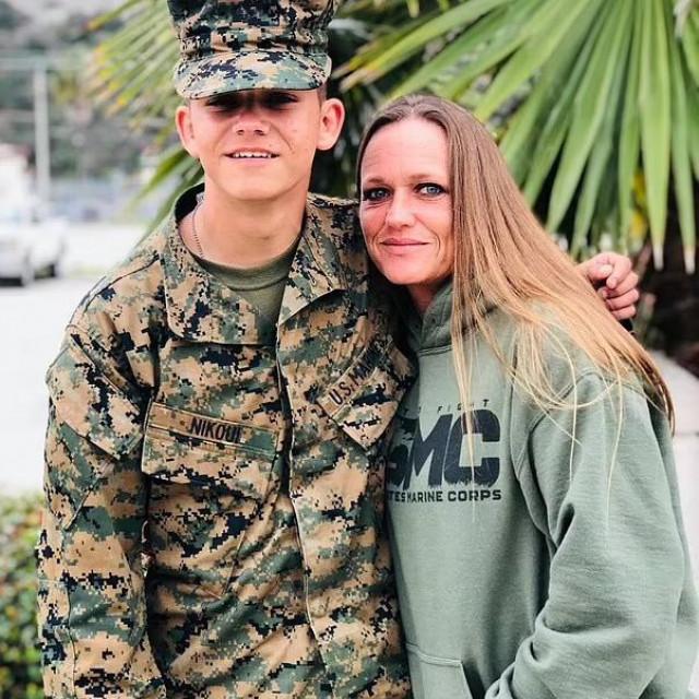 Kareem Nikoui i njegova majka Shana Chappell